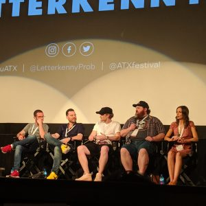 20190609 Letterkenny at ATX TV Fest Credit Comedy Wham VL